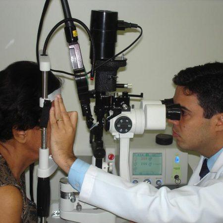 Trabeculoplastia com laser